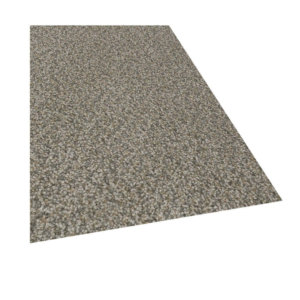 Carbon Crystals Custom Cut Indoor Area Rug