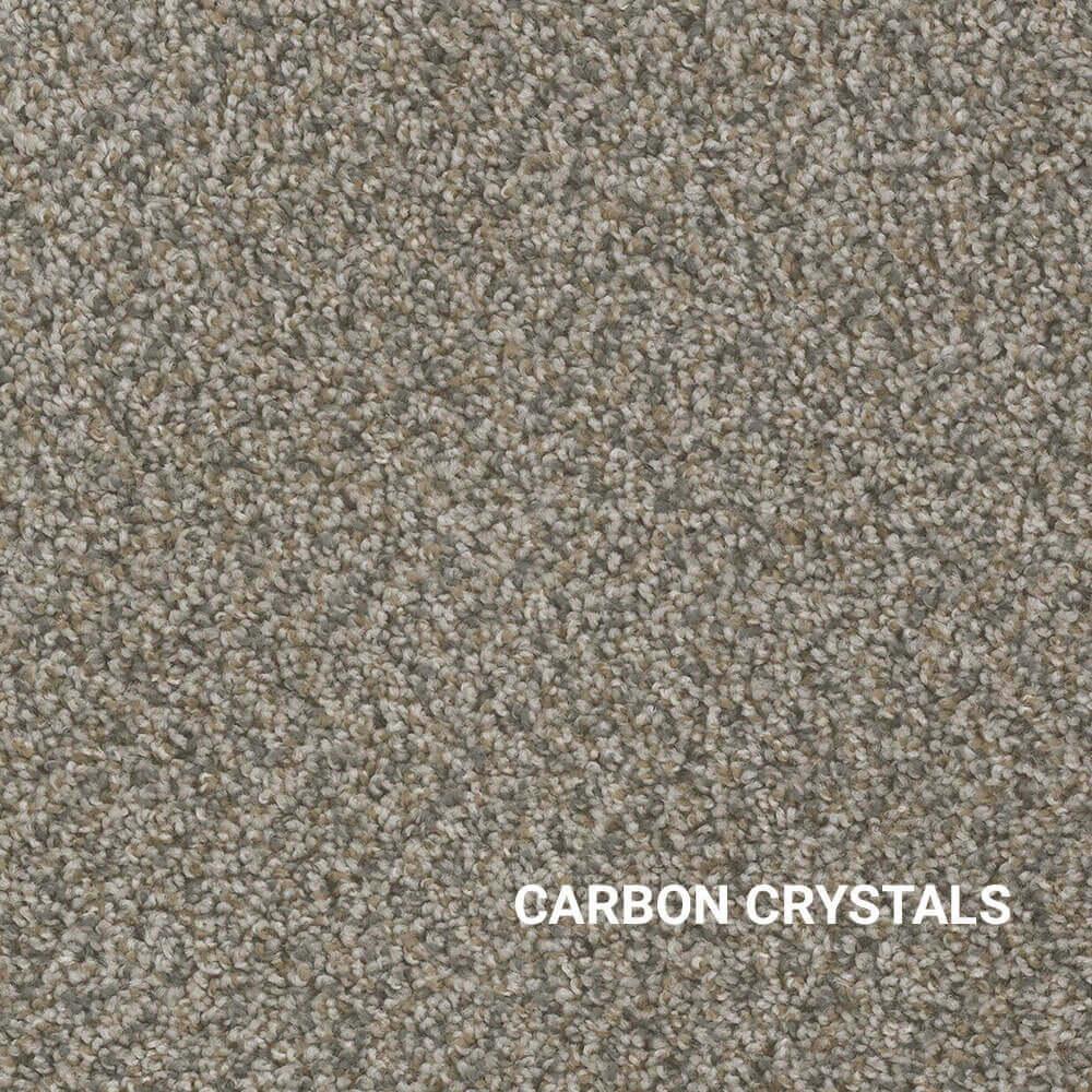 Carbon Crystals Area Rug