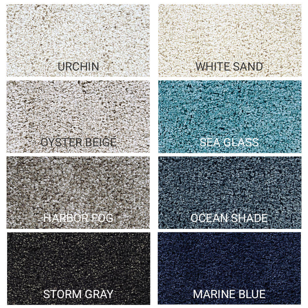 Carolina Shag Indoor Area Rug Collection - 8 Colors Available