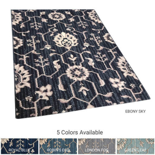New Keshan Traditional Indoor Area Rug Collection